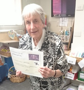 RC Merle Gilbo certificate